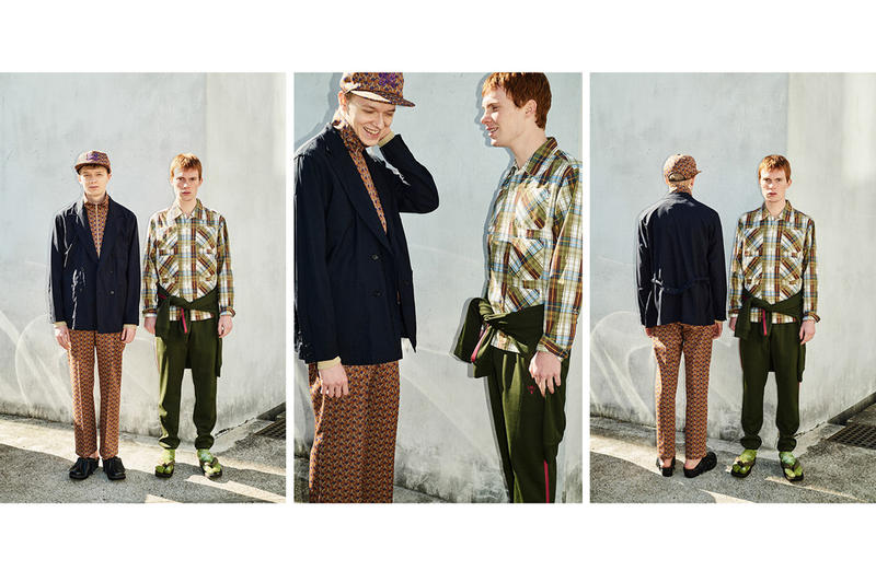 NEPENTHES Spring Summer 2018 Editorial Engineered Garments South2 West8 Rough & Tumble Needles