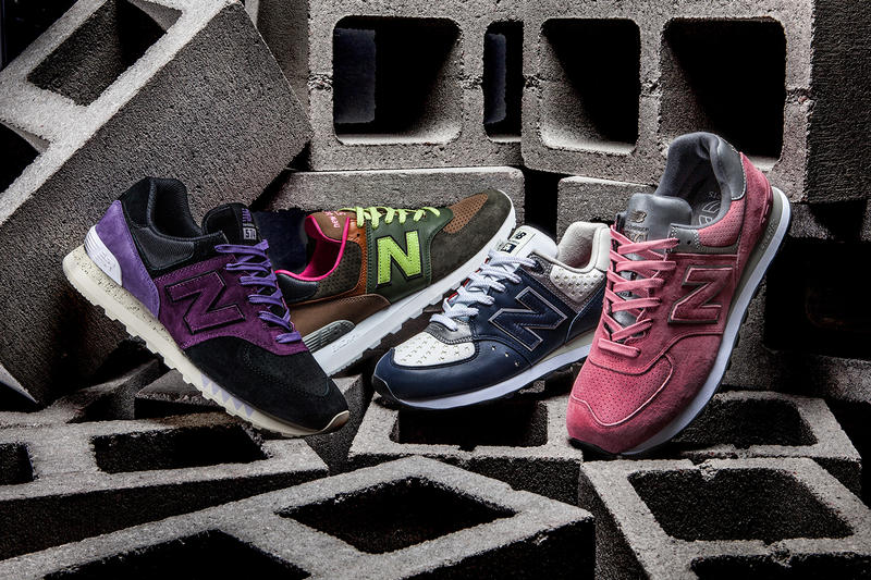 New Balance 574 Iconic Collaboration Pack Concepts Sneaker Freaker SNS mita sneakers WHIZ LIMITED