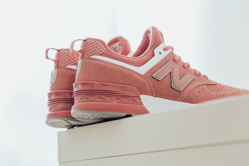 4738718f2 New Balance 574 Sport Dusted Peach 2018 february release date info sneakers  shoes footwear feature
