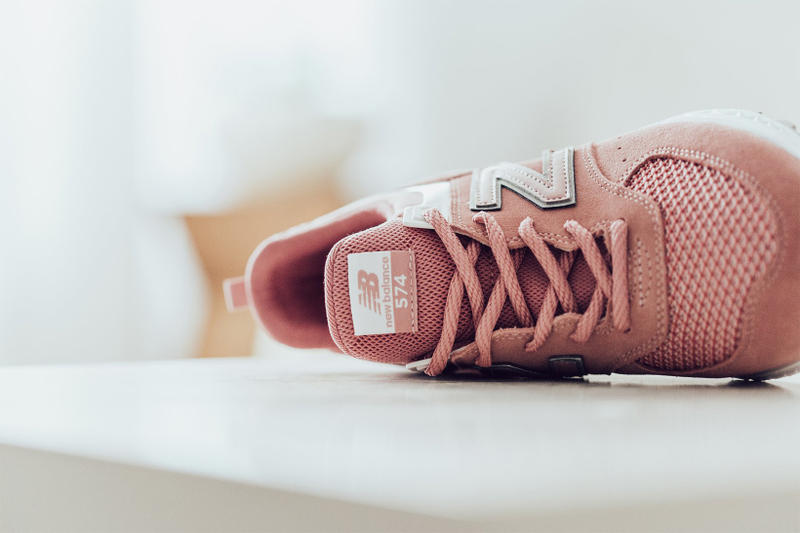 New Balance 574 Sport Dusted Peach 2018 february release date info sneakers shoes footwear feature