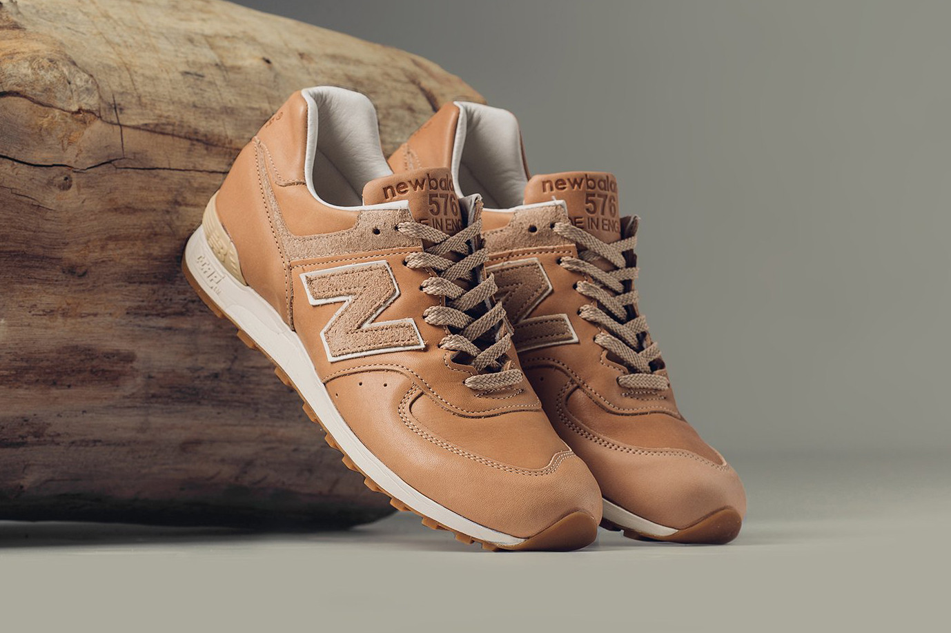 New Balance 576 Vegetable-Tanned