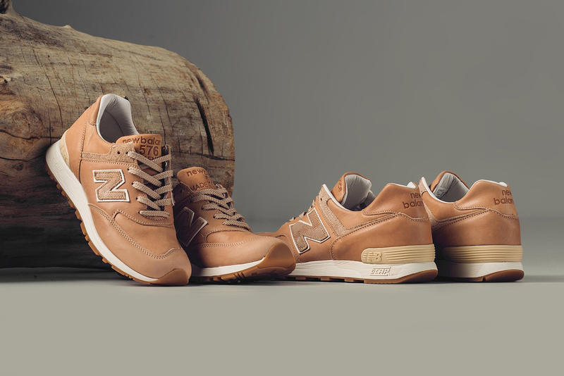 check out cec0e 324ca New Balance 576 Vegetable-Tanned Horween Leather | HYPEBEAST