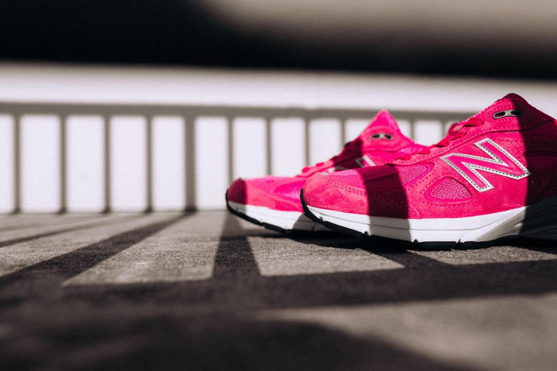 New Balance 990v4 Komen Pink Mens Made in USA Lace up for the cure
