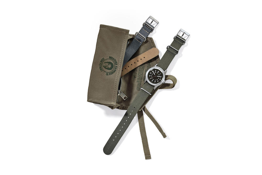 Nigel Cabourn Timex Watch Collaboration 2018 March 10 release date info