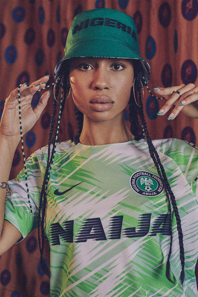 Nigeria 2018 Nike National Team Kits World Cup Vapor Knit Green