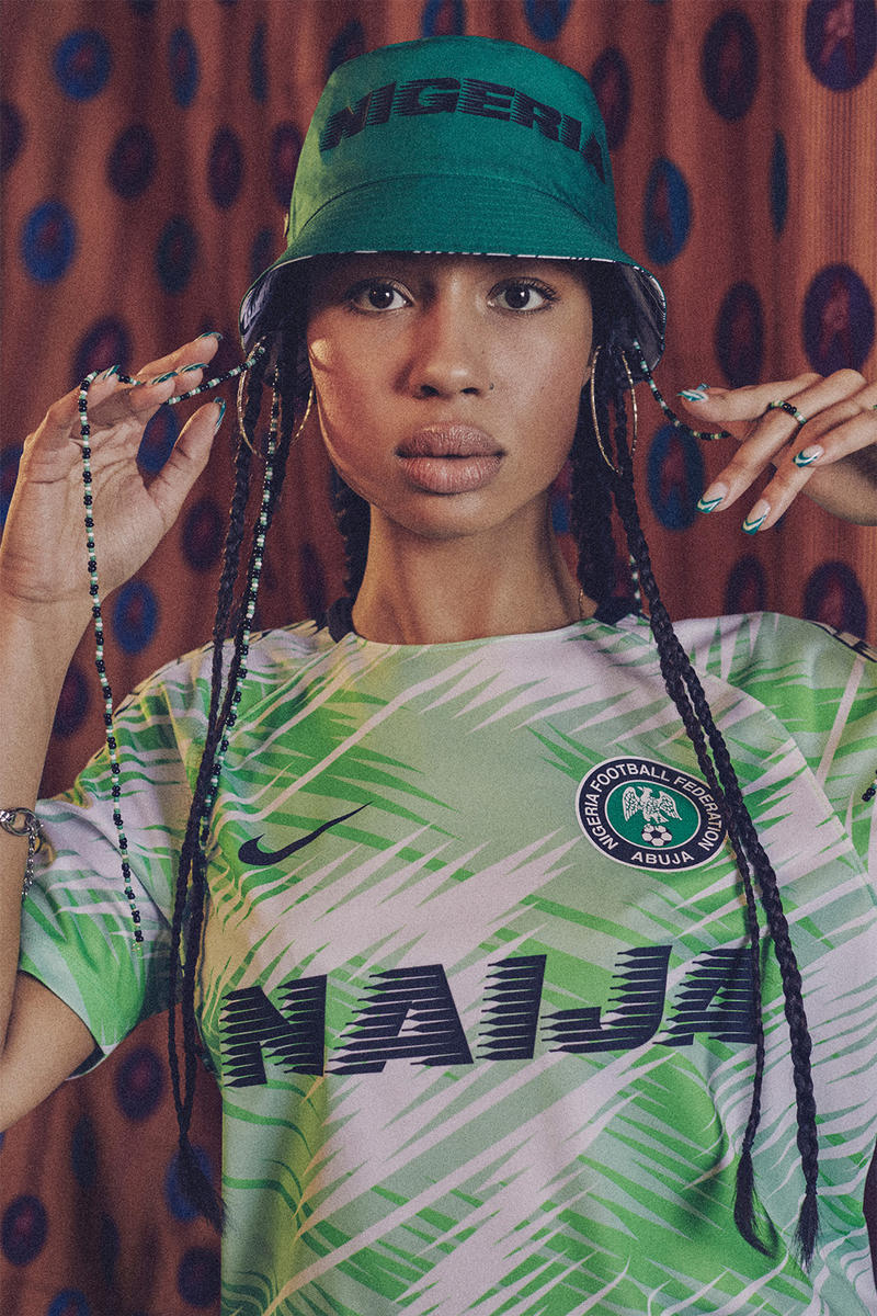Nigeria 2018 Nike National Team Kits World Cup Vapor Knit Green