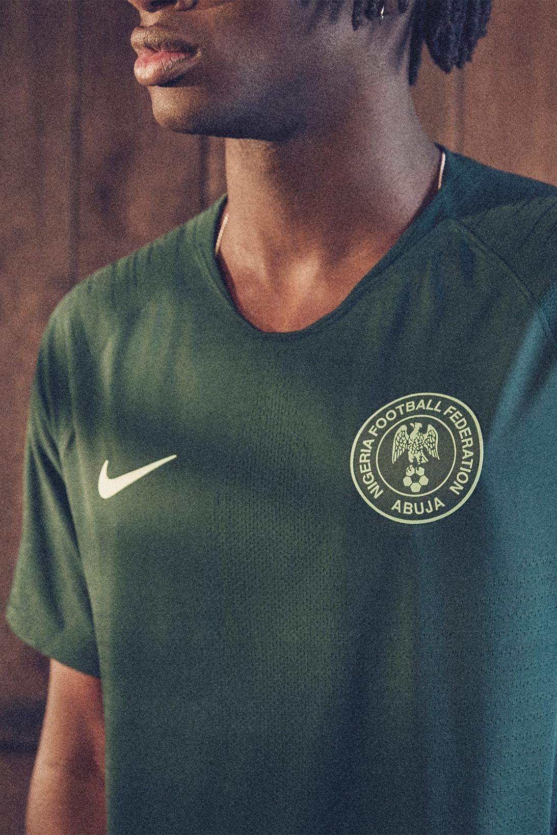 Acera prosa Incomparable  Nike Unveils Nigeria National Team Kits for 2018 | HYPEBEAST