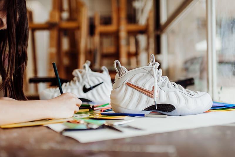 Nike Air Foamposite Pro All Star Interchangeable Swoosh white footwear february 2018