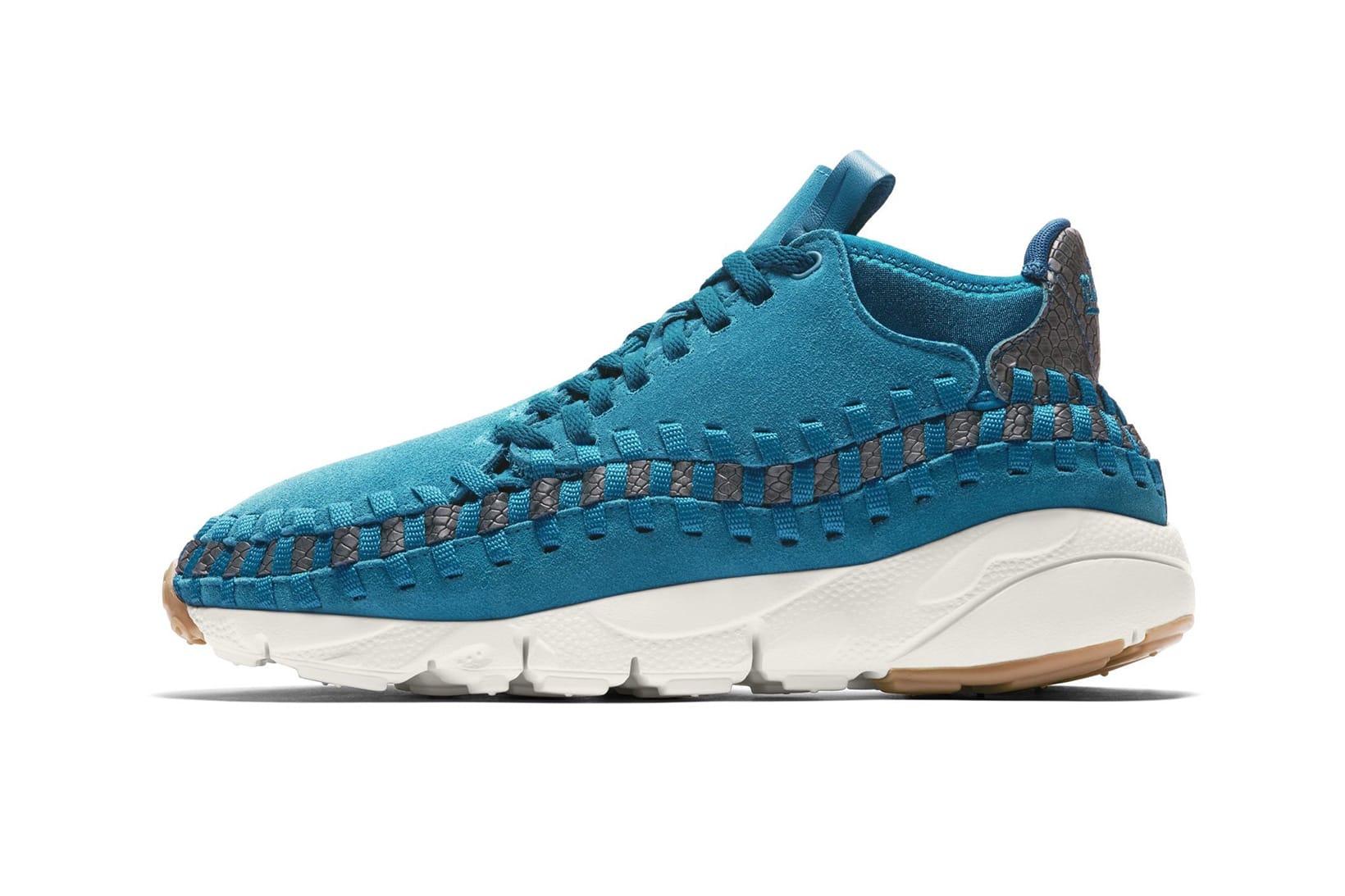 Nike Air Footscape Woven Chukka Blue