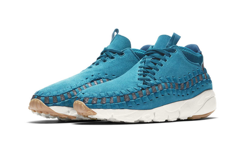 the best attitude 7e8cc 02a60 Nike Air Footscape Woven Blue footwear 2018 release drops info sneakers