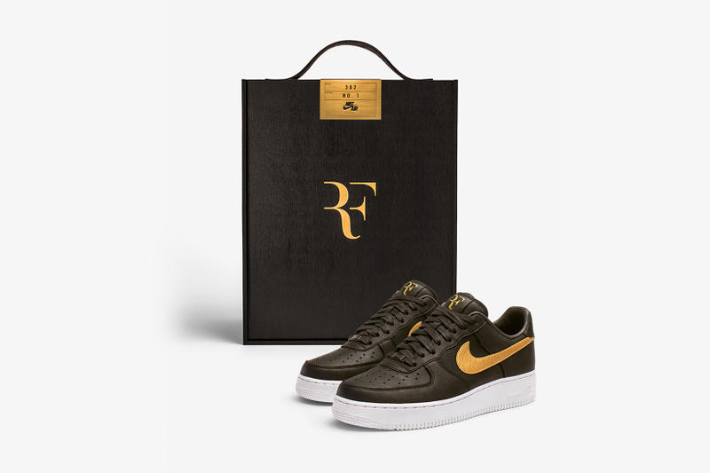 Nike Air Force 1 Low Roger Federer Forever RF1 2018 february sneakers shoes footwear