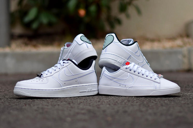 new style a7d1e 181cc Nike Air Force 1 Low Valentines Day Pack Release White Hearts