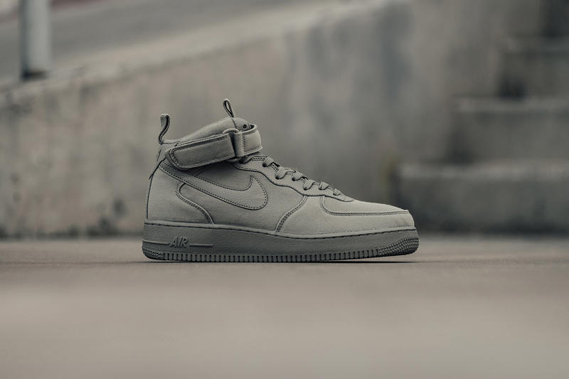 Nike Air Force 1 Mid Dark Stucco Release Info. 1 of 3. Feature Sneaker 5143bbc30