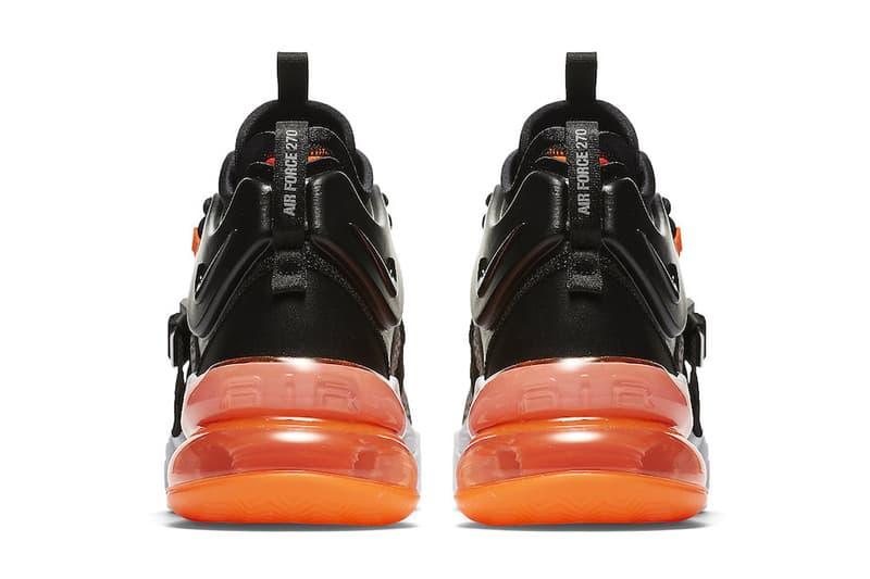 Nike Air Force 270 Safari Official Release Date black hyper crimson wolf grey white 2018 february 17 info sneakers shoes footwear AH6772 004