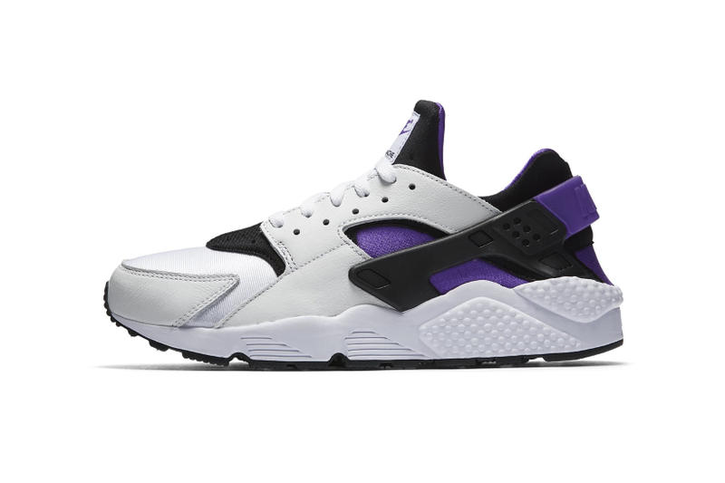Nike Air Huarache 91 Purple Punch 2018 March release date info sneakers shoes footwear