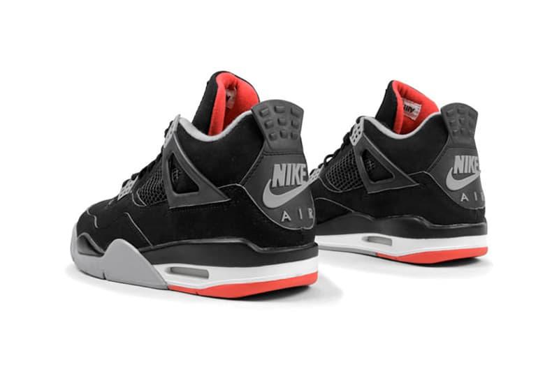 Nike AIr Jordan 4 Bred Footwear Sneakers Shoes Michael Jordan Kicks