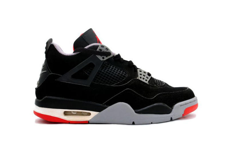 e0af22b92c34 Sneaker Bar Detroit. Nike AIr Jordan 4 Bred Footwear Sneakers Shoes Michael  Jordan Kicks