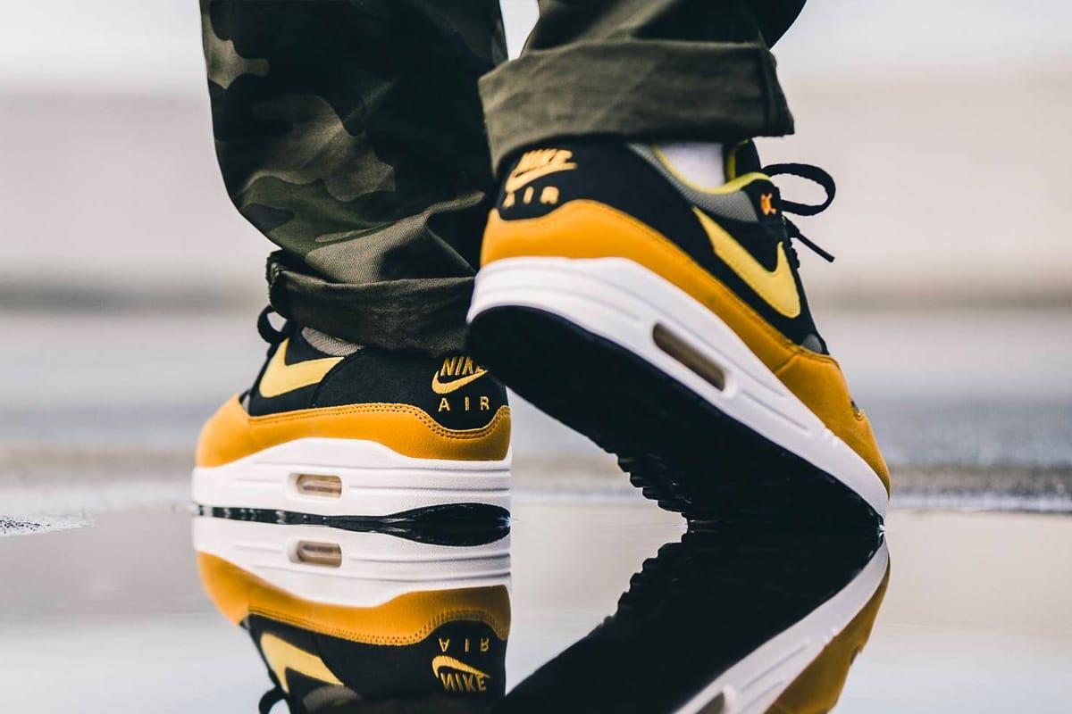 "Nike Air Max 1 ""Elemental Gold"" On-Feet"