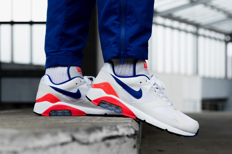 91e92c0c59d Nike Air Max 180 Ultramarine On Feet 2018 february 2 release date info  sneakers shoes footwear