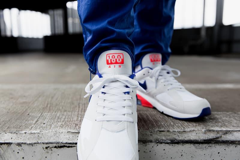 Nike Air Max 180 Ultramarine On Feet 2018 february 2 release date info sneakers shoes footwear overkill berlin 615287 100