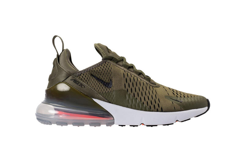 b40738cdcea Nike Air Max 270 Colorways March 2018 release date info spring summer  medium olive light bone