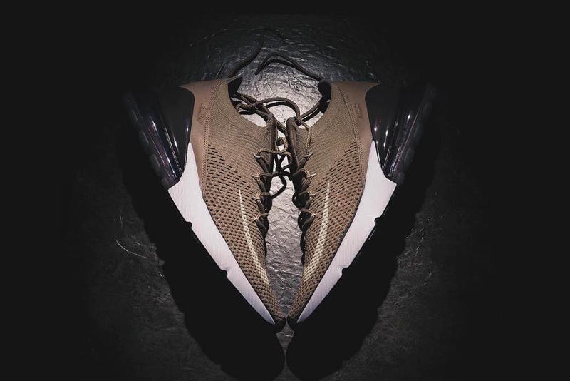 Nike Air Max 270 Flyknit Brown First Look release date info purchase