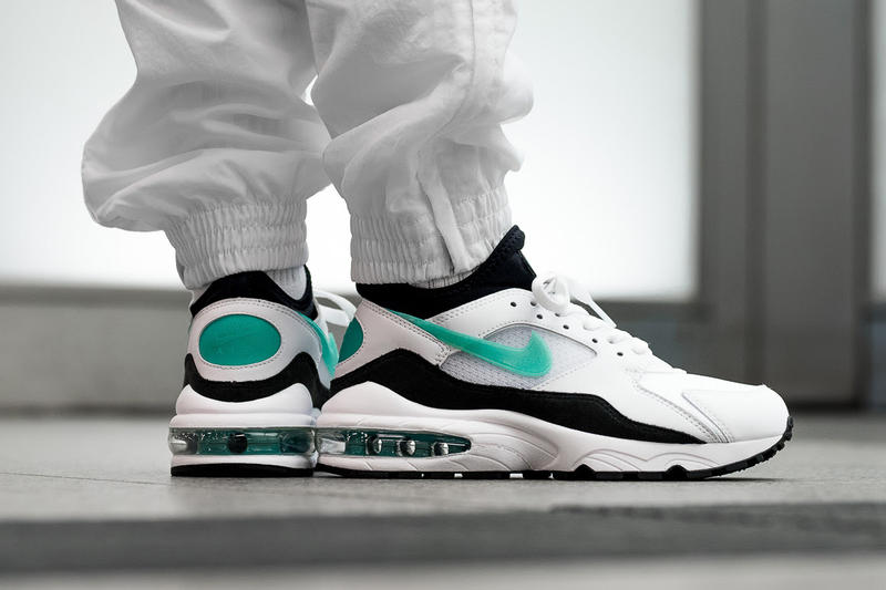 newest 92ac9 c7525 Nike Air Max 93 OG Dusty Cactus On Feet 2018 february 2 release date info  sneakers