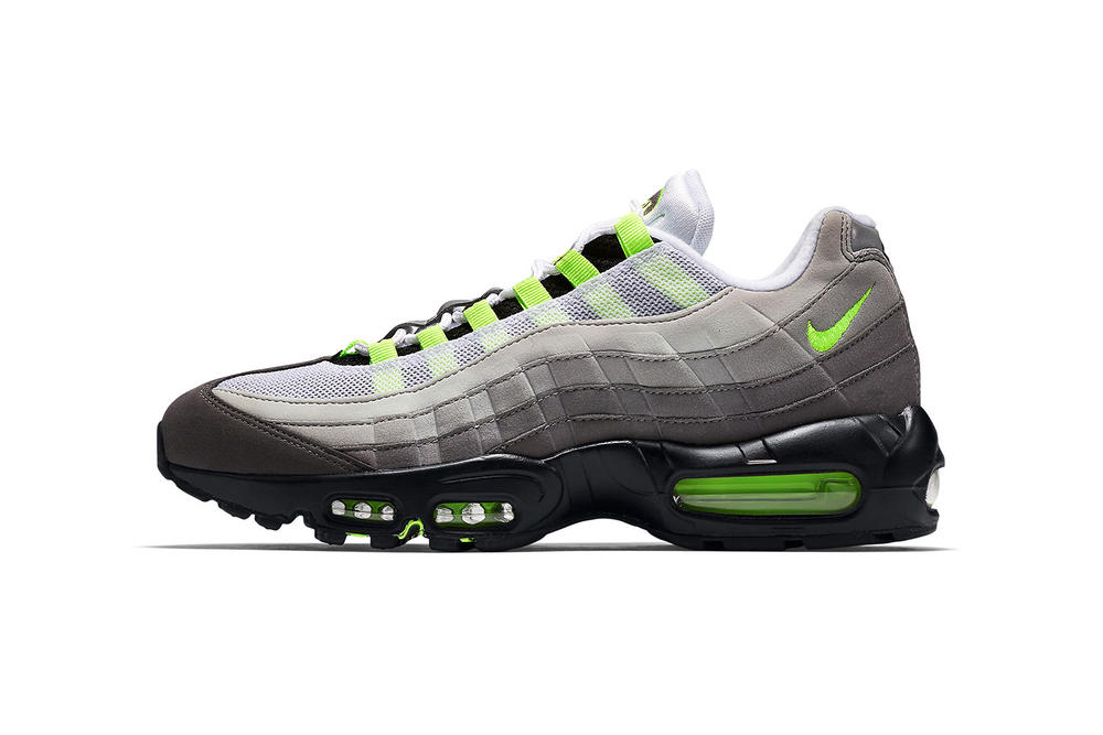 Nike Air Max 95 OG Neon 2018 March 2 release date info sneakers shoes footwear