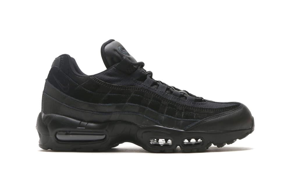 Nike Air Max 95 Premium Wine Triple Black Vintage Wine Footwear Shoes Sneakers release date drops info February 3 2018