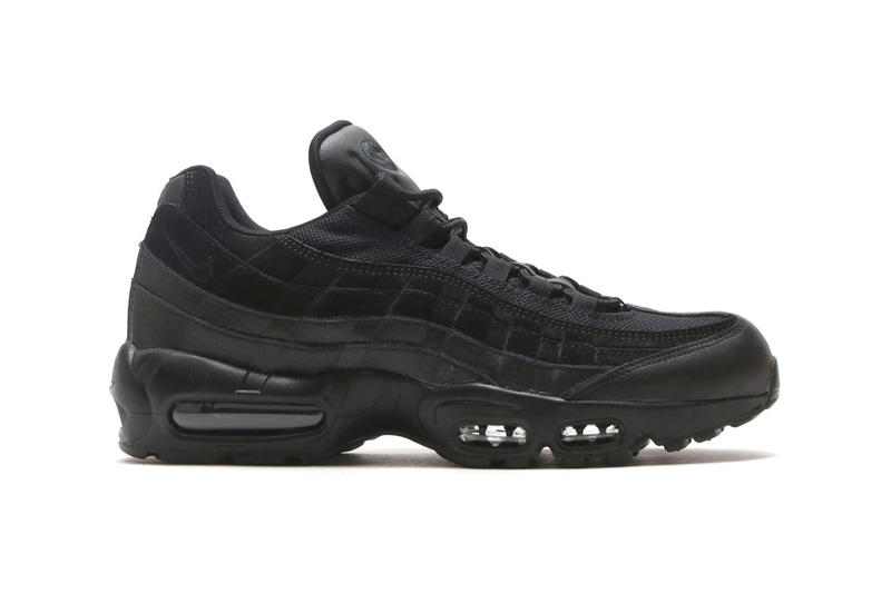 Nike Air Max 95 Premium Wine Triple Black Vintage Wine Footwear Shoes Sneakers release date drops info February 3 2018