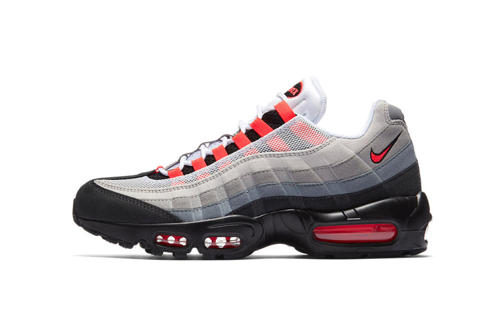 Nike Air Max 95 Solar Red 2018 march 1 release date info sneakers shoes footwear