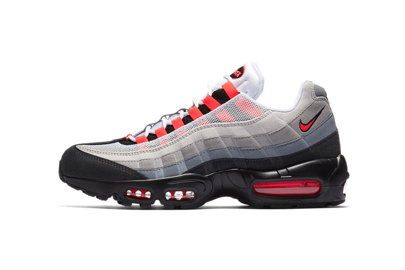 1a2386d802 Nike Air Max 95 Solar Red 2018 march 1 release date info sneakers shoes  footwear