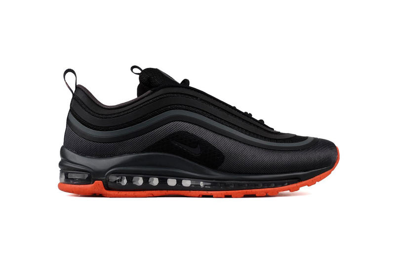 on sale df081 83c0a Nike Air Max 97 Ultra Premium Black Anthracite Orange 2018 february release  date info sneakers shoes
