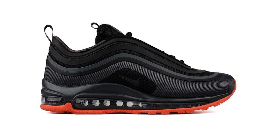 Nike Air Max 97 Ultra Premium in Black Orange  d628c4850