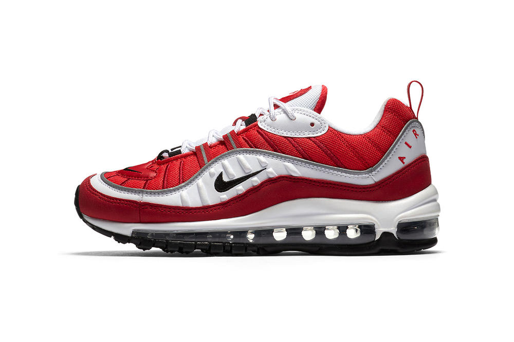 Nike Air Max 98 Gym Red Valentine S Day 2018 February Release Date Info Sneakers Shoes Footwear