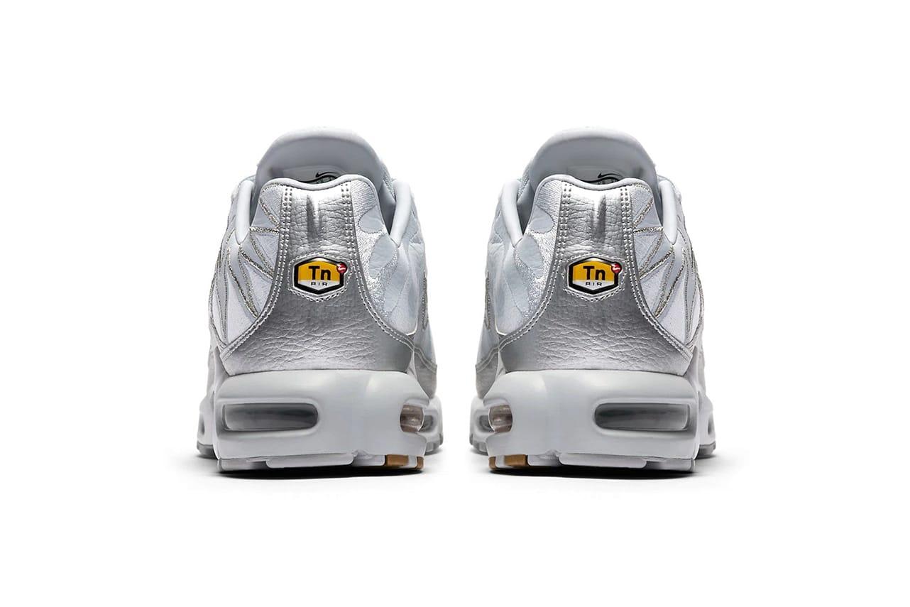 Nike Air Max Plus Metallic Silver Zig