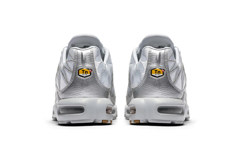 Nike Air Max Plus Metallic Silver Zig-Zag colorway Update first look release info