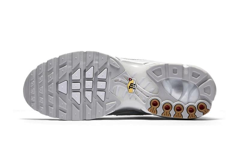 Nike Air Max Plus Metallic Silver Zig-Zag colorway Update first look release info