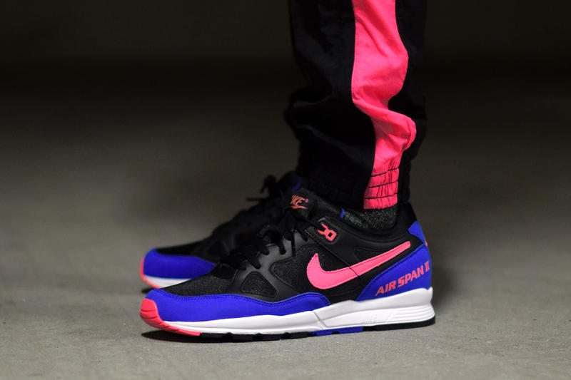 On-Feet Look at the Nike Air Span II Hyper Royal Sneaker Shoes Mens Womens Sneakers Basketball