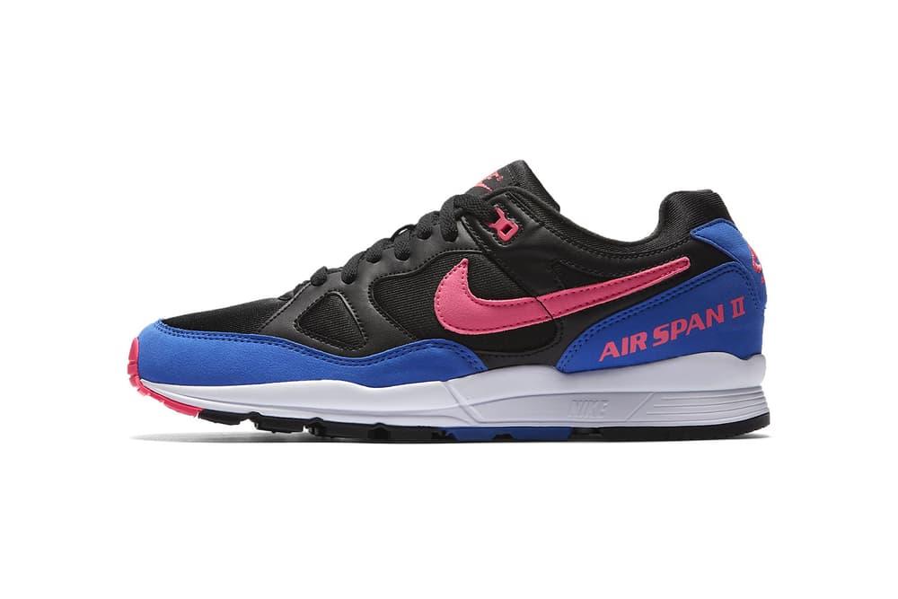 Nike Air Span II Laser Orange Hyper Pink Hyper Royal 2018 february release date info sneakers shoes footwear