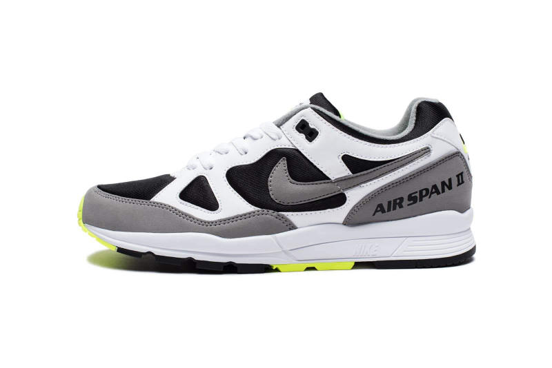Nike Air Span II White Dust Volt Black 2018 february release date info sneakers shoes footwear undefeated undftd
