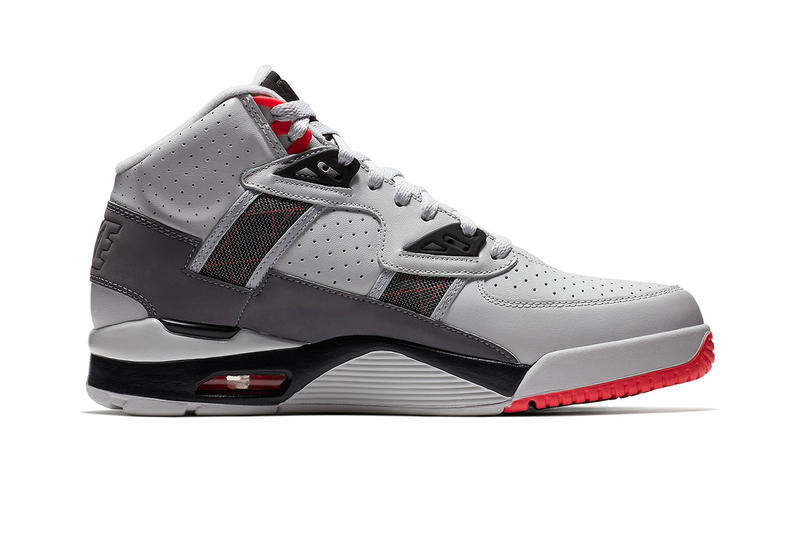 Nike Air Trainer SC High Vast Grey Gunsmoke Infrared Bo Jackson Release Info