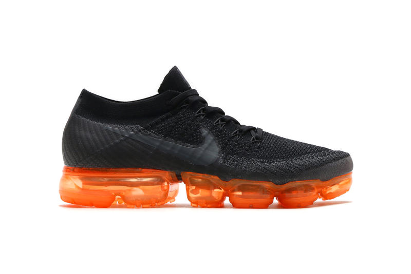 buy popular 7fe17 3296b Nike Air Vapormax Anthracite Black Rush Orange 2018 february release date  info sneakers shoes footwear atmos