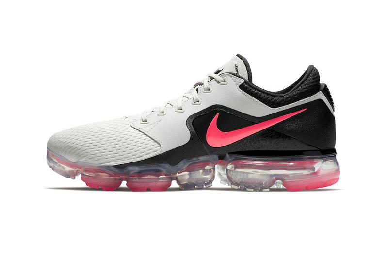 49044d6d94f1 Nike Air VaporMax Hot Punch Light Bone Black March 2018 Release