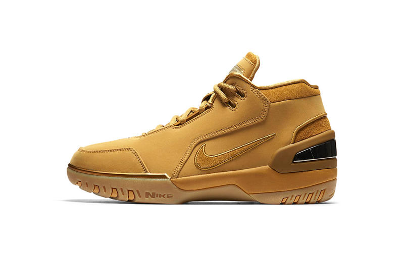 f571788b18318 Nike Air Zoom Generation Wheat LeBron James footwear february 2018 17 release  date info retro sneakers. 1 of 2