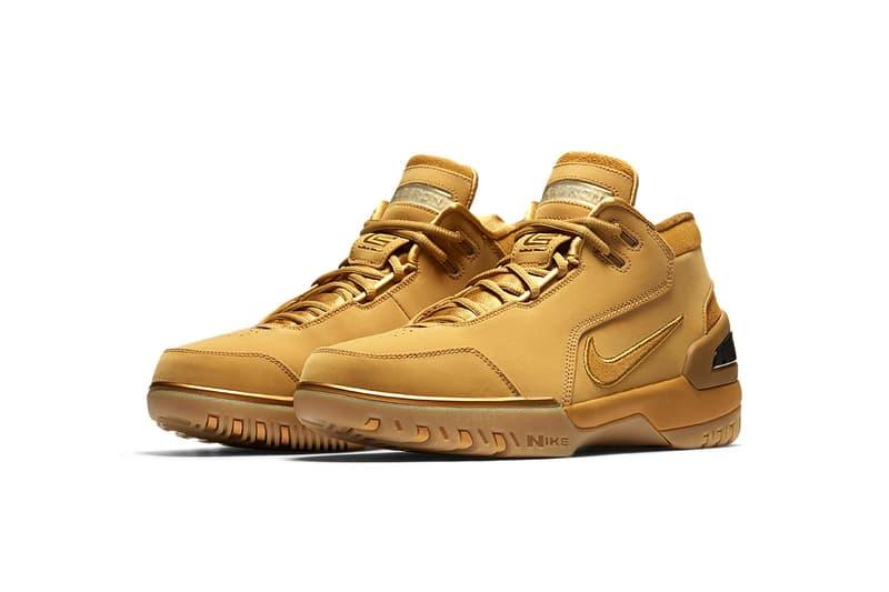 Nike Air Zoom Generation Wheat LeBron James footwear february 2018 17 release date info retro sneakers shoes footwear