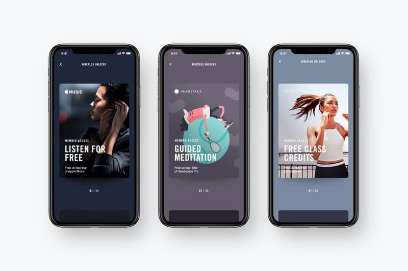 Nike App Apple Music Perks Nikeplus Runclub Training App iTunes