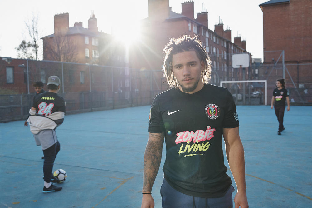 Jersey Shop x Nike By You soccer football shirt kit Romance 24 London Harlem FC