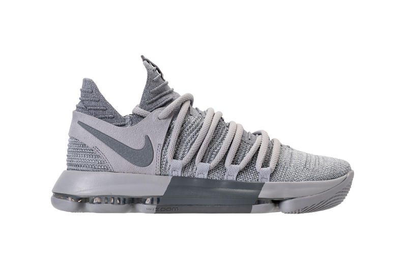 a1efa2a156c Nike KD 10 Wolf Cool Gray Release February 22 New Colorways. 1 of 4