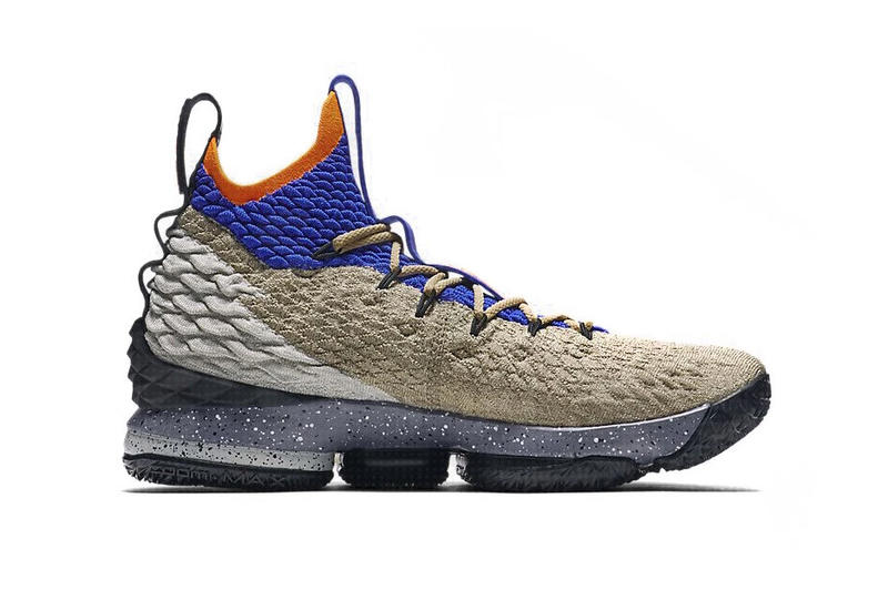 Nike LeBron 15 ACG Mowabb Purple Brown Orange James
